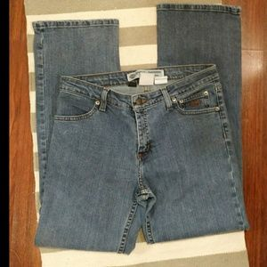 BARELY WORN Harley Davidson Size 8 Petite Boot Cut